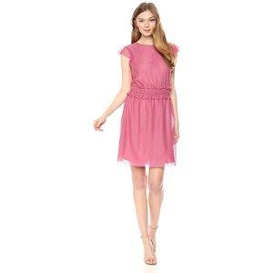 ⭐️Ella Moon Sleeveless Pink Ruffled Dress Medium